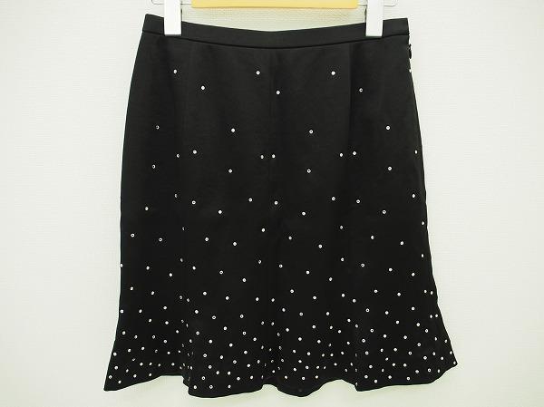 ユキコハナイ ラインストーン付 スカート