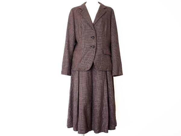 ヨシエイナバ 長袖3ピース スカート パンツ スーツ