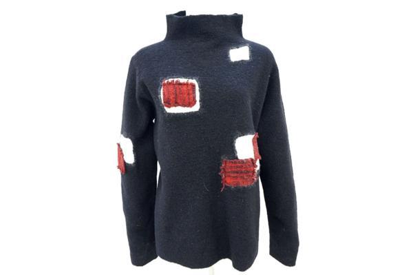 慈雨センソユニコ/ハイネック 長袖セーター