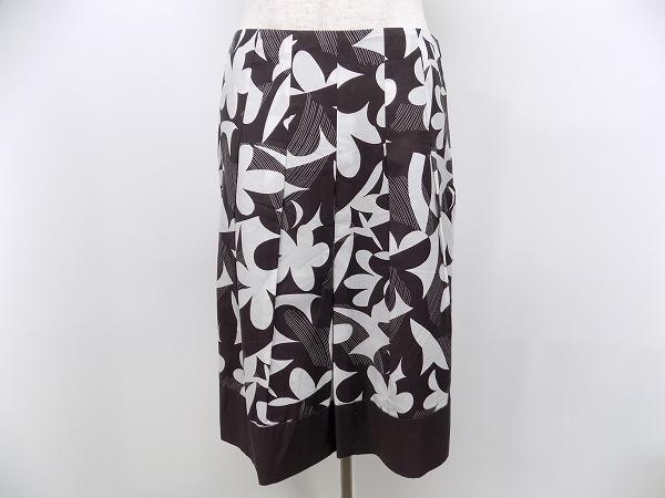 自由区 花柄 スカート
