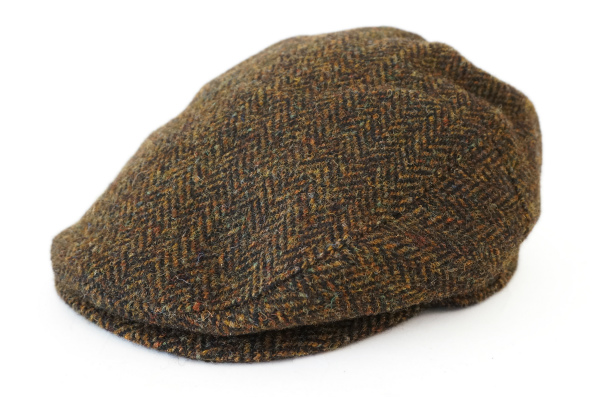 銀座トラヤ ハリスツイード ハンチング帽子