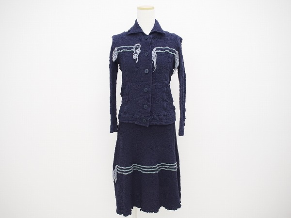 ミーイッセイミヤケ ジャケット&スカート
