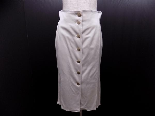 ダブルビー ボタンタイトスカート