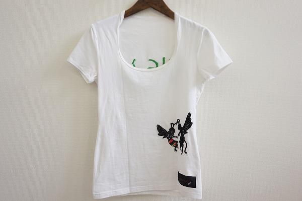 ロエン 半袖プリントTシャツ