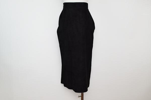 ジュンコシマダ レザースカート 羊革