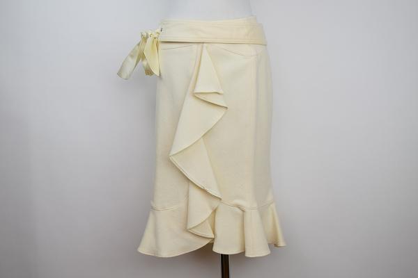 マテリア スカート フリル
