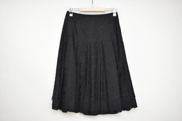 コムサデモード プリーツスカート