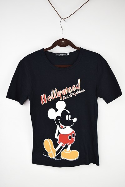 ドルチェ&ガッバーナ ミッキーTシャツ