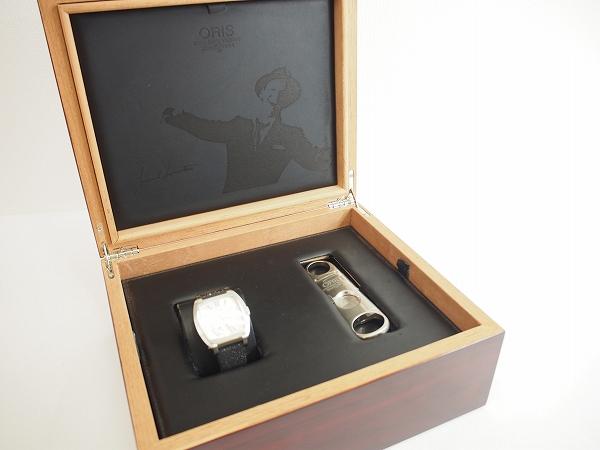 オリス 時計 フランク・シナトラ パワーリザーブ限定モデル
