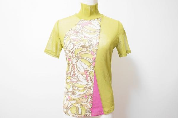 リツコシラハマ/花柄 半袖カットソー