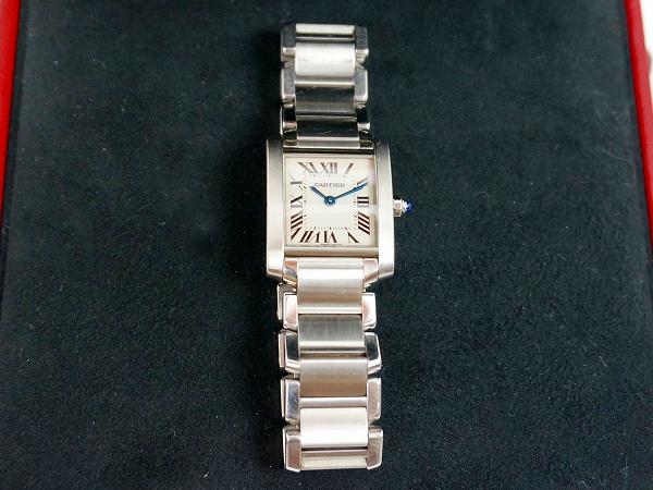 カルティエ 腕時計 ステンレススチール ムーブメント/クオーク