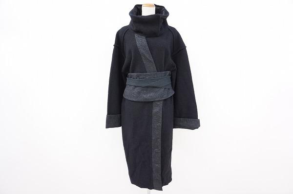 ケンゾー タートルネック着物風コート