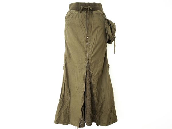 ゴア ポーチ付ロングスカート