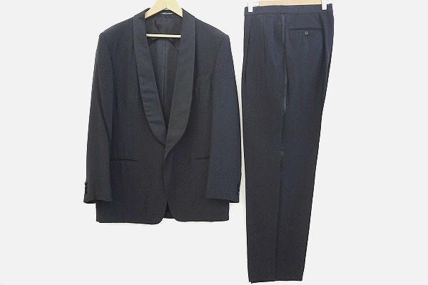 ジエルメネジルドゼニア シルク混タキシード スーツ