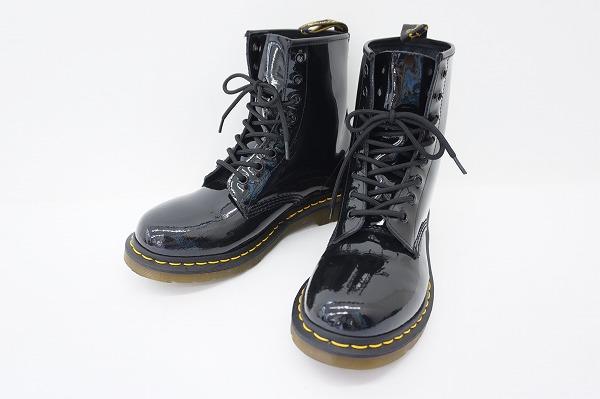 ドクターマーチン 1460W ブーツ パテント