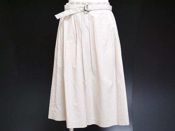セオリー ベルト付きスカート