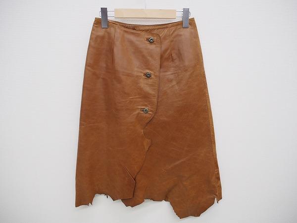 グレースコンチネンタル レザースカート