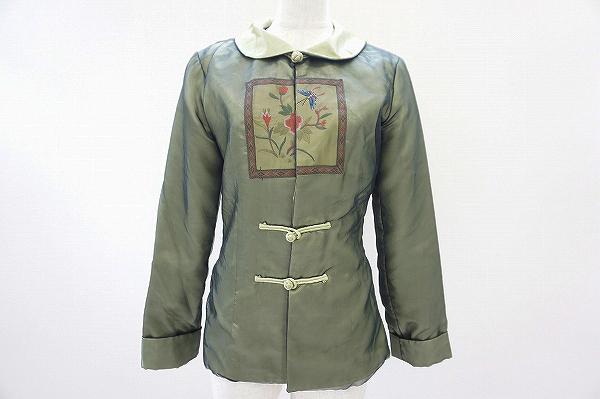 グレースコンチネンタル 長袖チャイナ風ジャケット