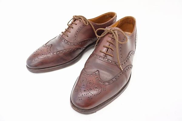 ジョンロブ マーシャル ウィングチップシューズ 靴