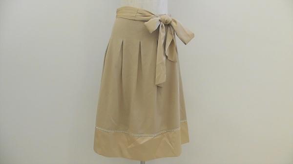 クレージュ リボン付きスカート フェミニン