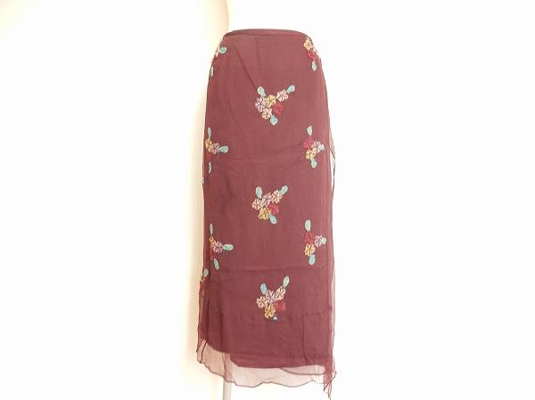センソユニコ 花柄タイトスカート