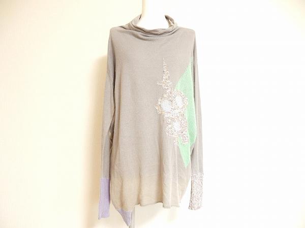 センソユニコ 長袖花柄セーター