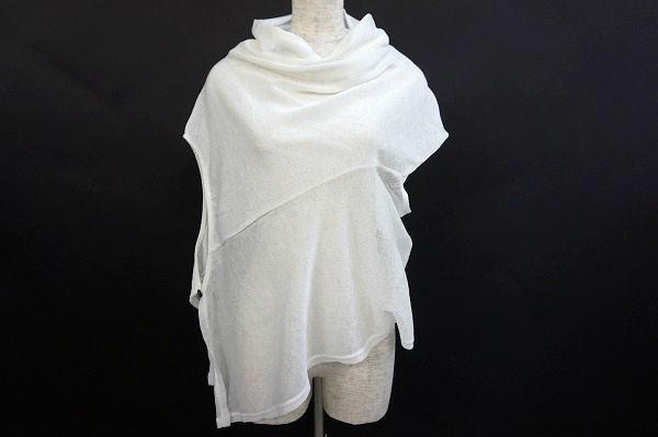 センソユニコ セーター 変形カットソー
