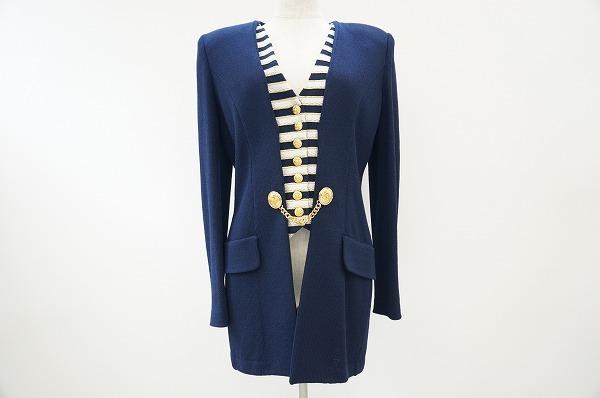 セントジョン ベスト レイヤードセーター ジャケット