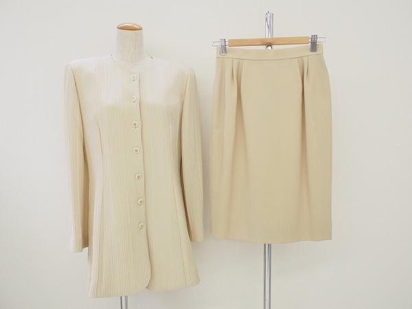 ジュンアシダ 長袖スカートスーツ