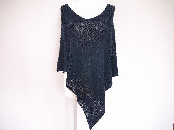 ジョセフ 麻混ポンチョ 羽織