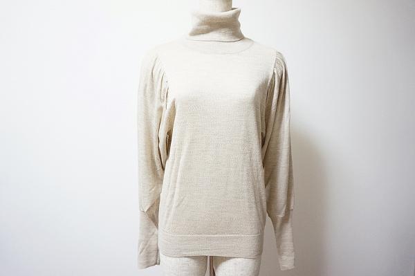スキャパ タートルネック長袖セーター