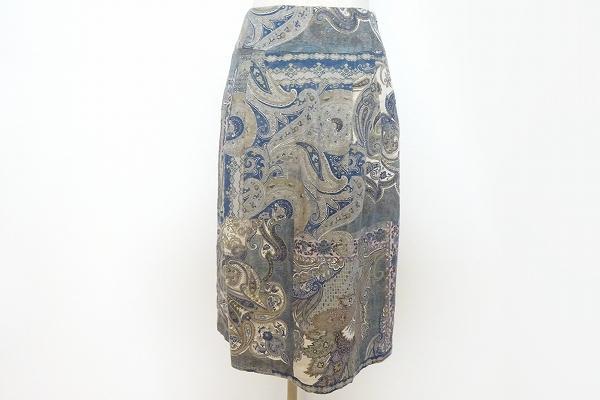 スキャパ ペイズリー柄スカート