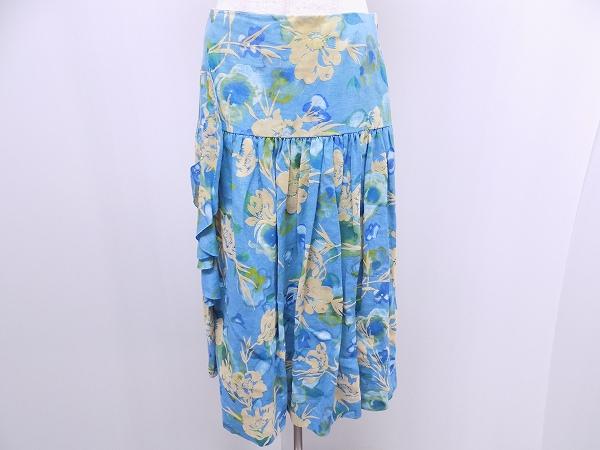 スキャパ 花柄スカート