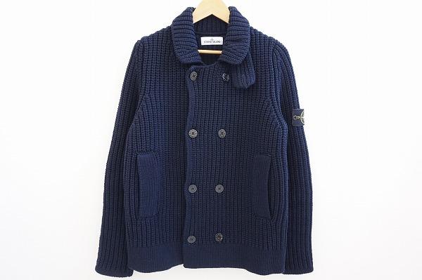 ストーンアイランド ダブルボタンジャケット セーター