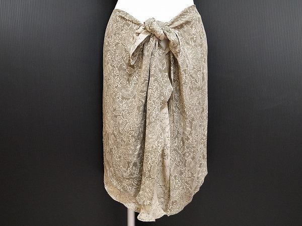 ウンガロ シルクスカート
