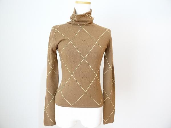 セイ 長袖タートルネックカシミヤセーター
