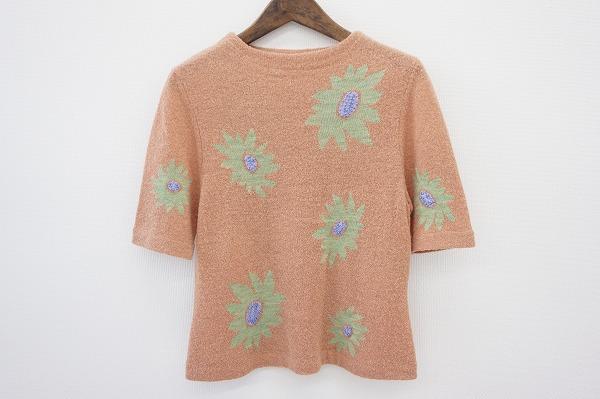 シビラ セーター 花柄カットソー