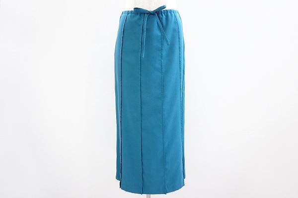 シビラ シルク混スカート