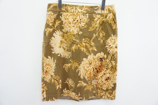 タルボット 花柄スカート