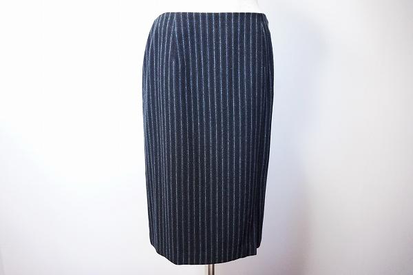 タルボット シルク混ストライプスカート