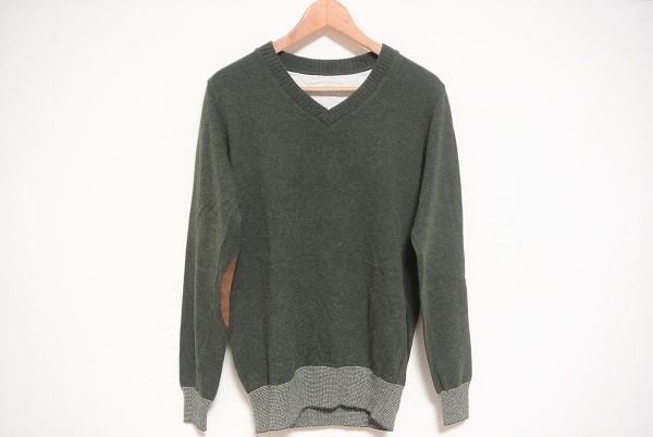 スティルバイハンド エルボーパッチセーター