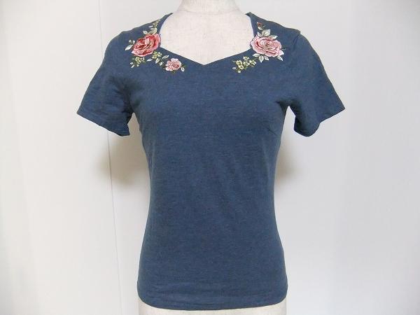 ローラアシュレイ Tシャツ 半袖 花柄
