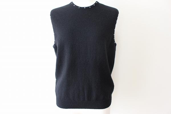 シズカコムロ カシミヤセーター ベスト