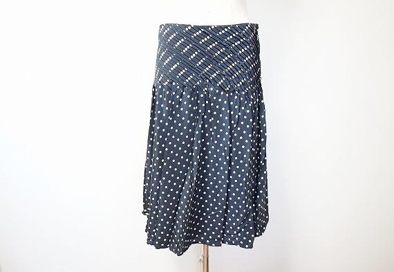 デュアルビュー シルクドットスカート