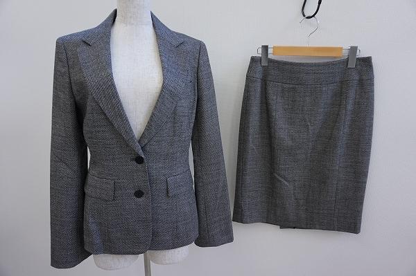 ダブルビー スカートスーツ