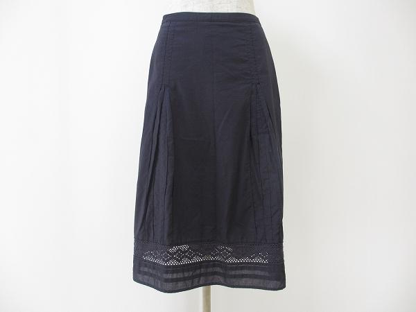 ローラアシュレイ 裾レーススカート