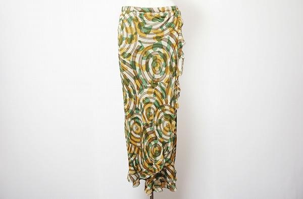 レキップヨシエイナバ ロングタイトスカート