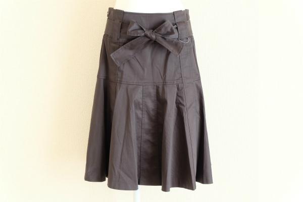 マダムジョコンダ リボンプリーツスカート