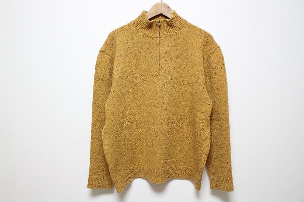 パパス ウール長袖セーター
