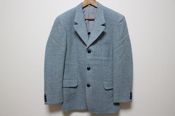 英国屋×ハリスツイード テーラードジャケット